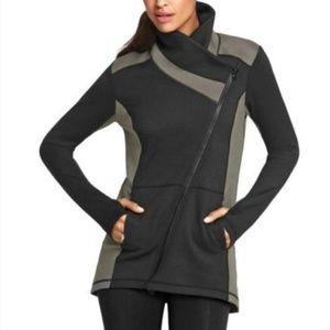 CAbi Dash Asymmetrical Athletic Jacket L #989